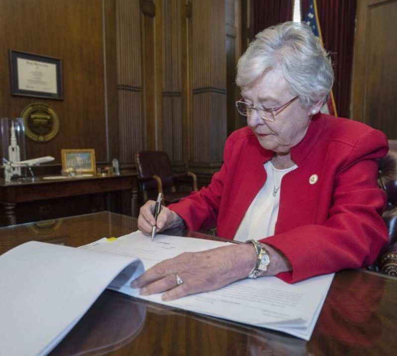 """God Wants This"", Alabama Gov Kay Ivey Says While Signing Anti-Abortion Bill."