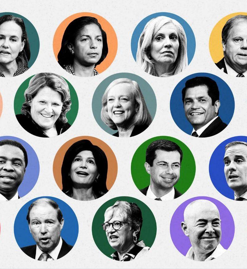 Meet the Contenders for Biden's Cabinet
